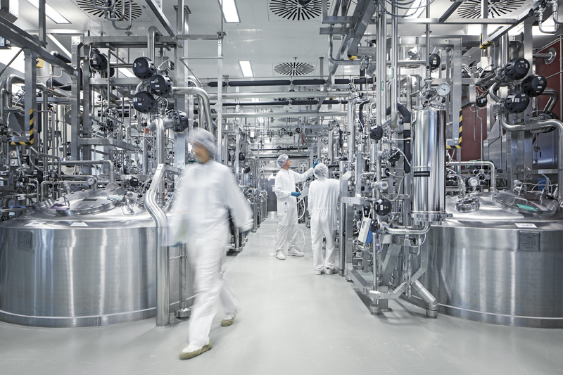 Biopharma production at Biberach. Credit: Boehringer Ingelheim